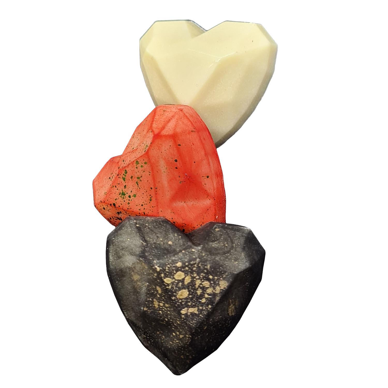 Pralinka czekoladowa Serce Diament